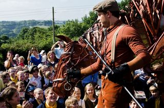 Joey at Iddersleigh, Devon - photo by Rosie Anderson