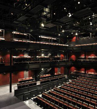 Dorfman Theatre - photo by Philip Vile