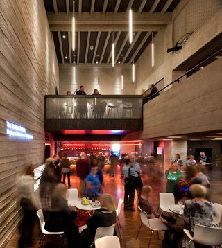 Dorfman Theatre foyer - photo by Philip Vile