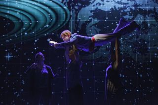The Curious Incident of the Dog in the Night-Time< on Broadway - photo by Joan Marcus